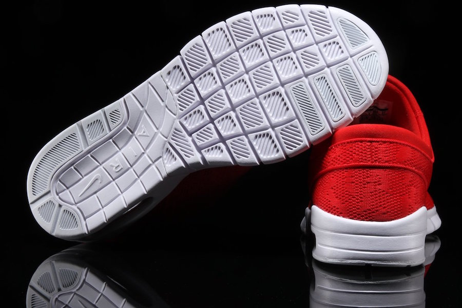 Nike SB Stefan Janoski Max University Red White 631303-662