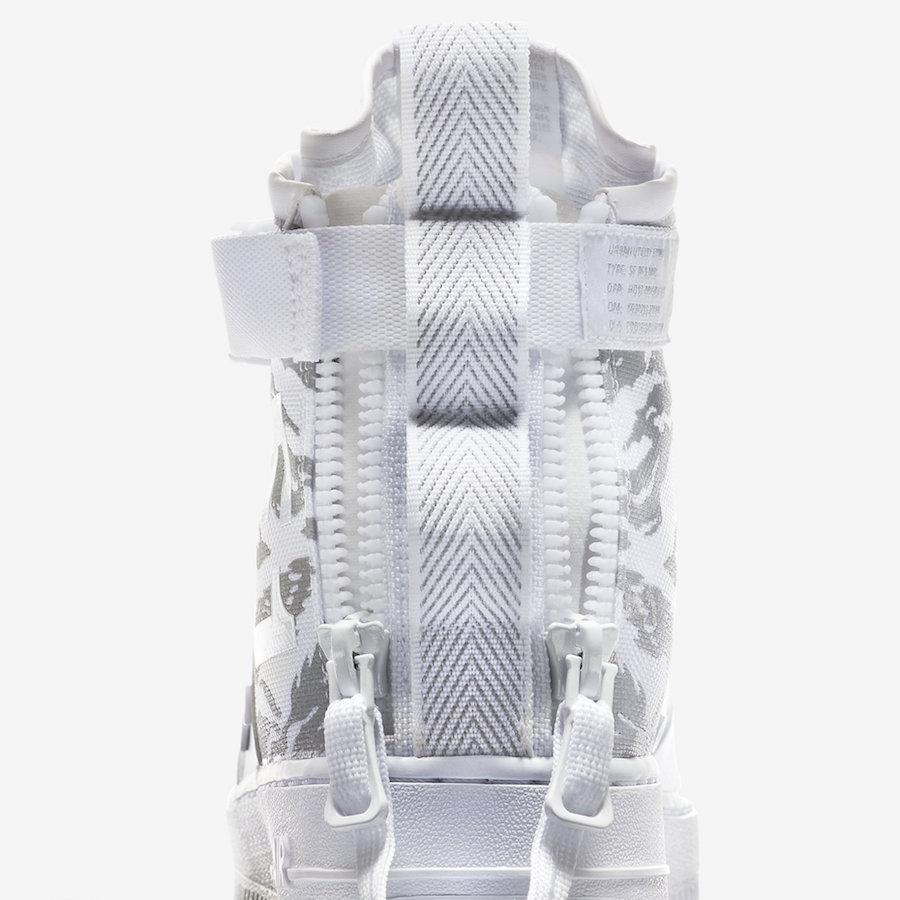 Nike SF-AF1 Mid Winter Camo AA1129-100