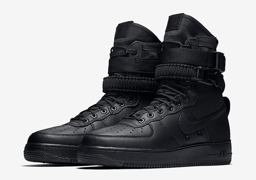 Nike SF-AF1 Triple Black Friday 864024-003