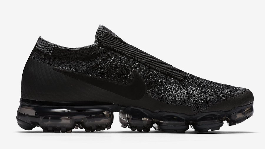 Nike VaporMax Laceless Black Night Release Date