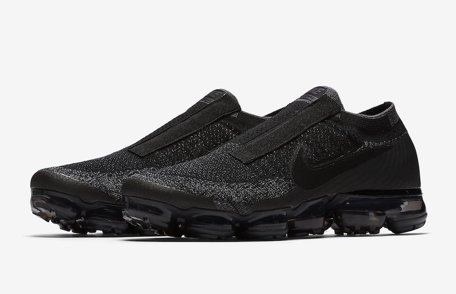 d996172c9f193 Nike VaporMax Laceless Black Night Release Date