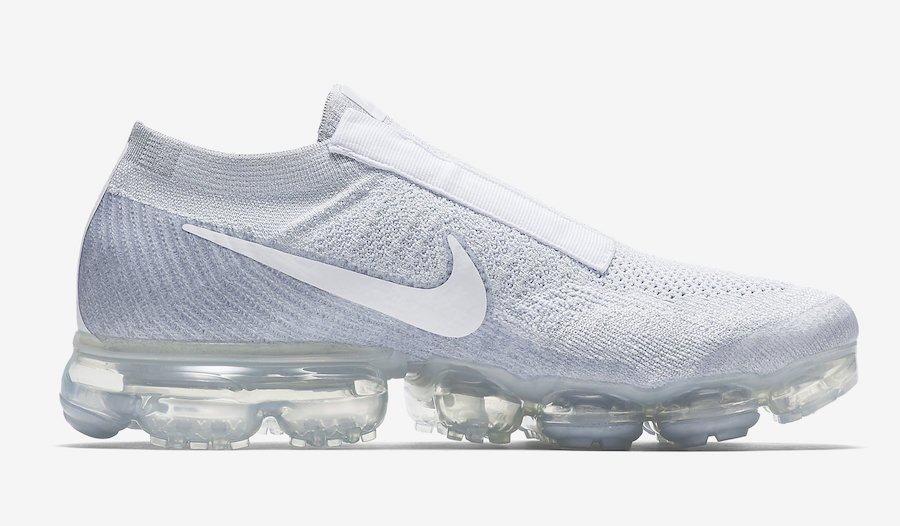 Nike VaporMax Laceless Pure Platinum Release Date