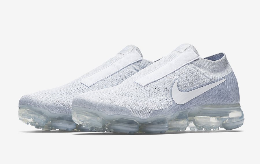 new style d8145 23378 Nike VaporMax Laceless Pure Platinum AQ0581-002 | SneakerFiles
