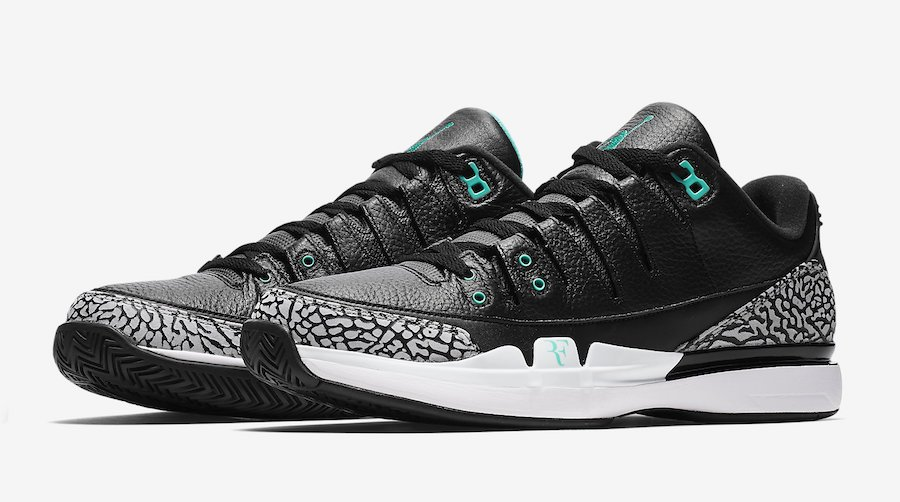 Nike Zoom Vapor Tour AJ3 atmos November 2017