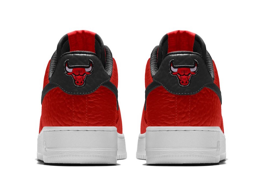 NikeID NBA Air Force 1 Low Bulls