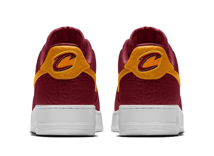 NikeID NBA Air Force 1 Low Cavs
