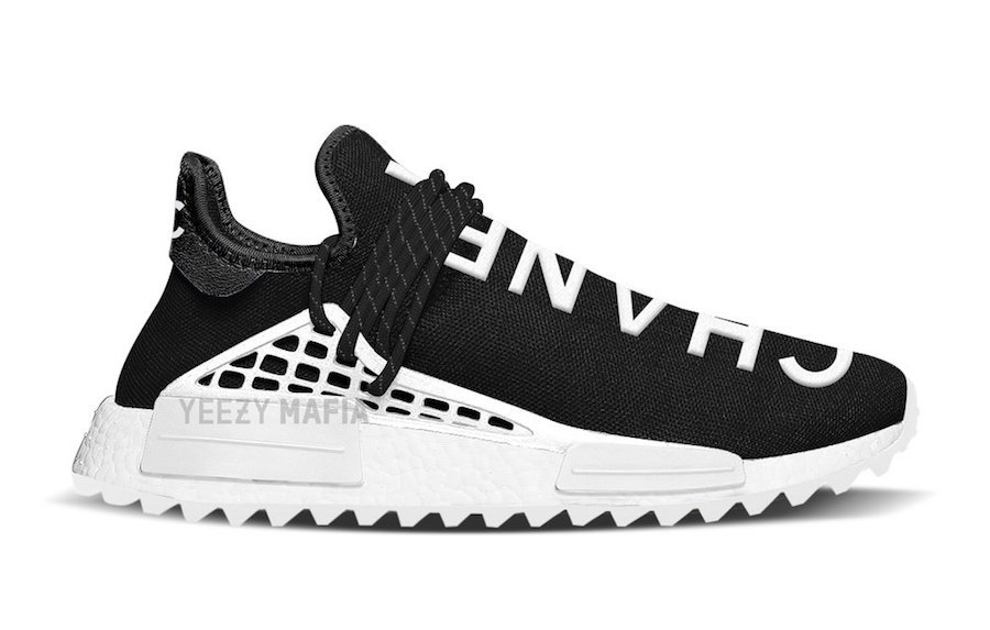Pharrell Chanel adidas NMD Human Race Release Date
