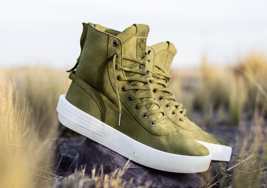 Puma XO Parallel Olive Green Release