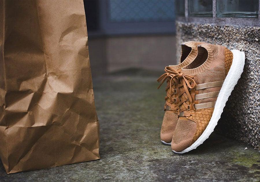 Pusha T adidas EQT Brown Paper Bag Release Date