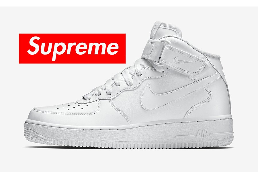 Supreme Nike Air Force 1 Mid Release Date. In 2018, Supreme and Nike will  continue their partnership ...