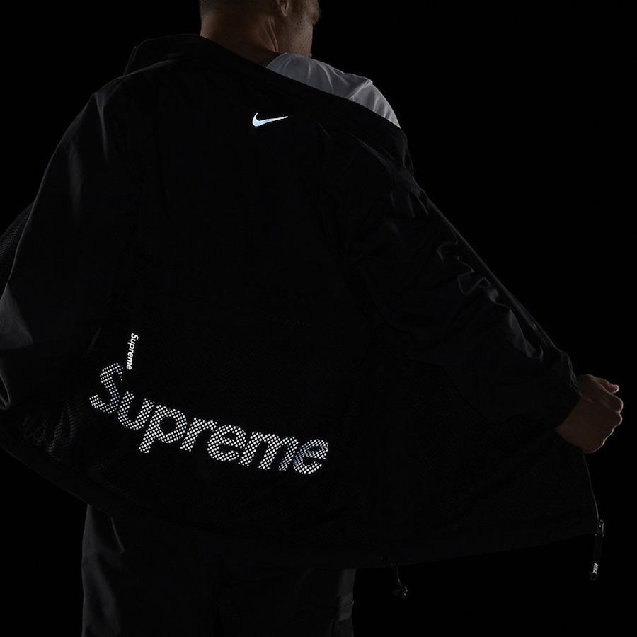 Supreme Nike Track Jacket Black