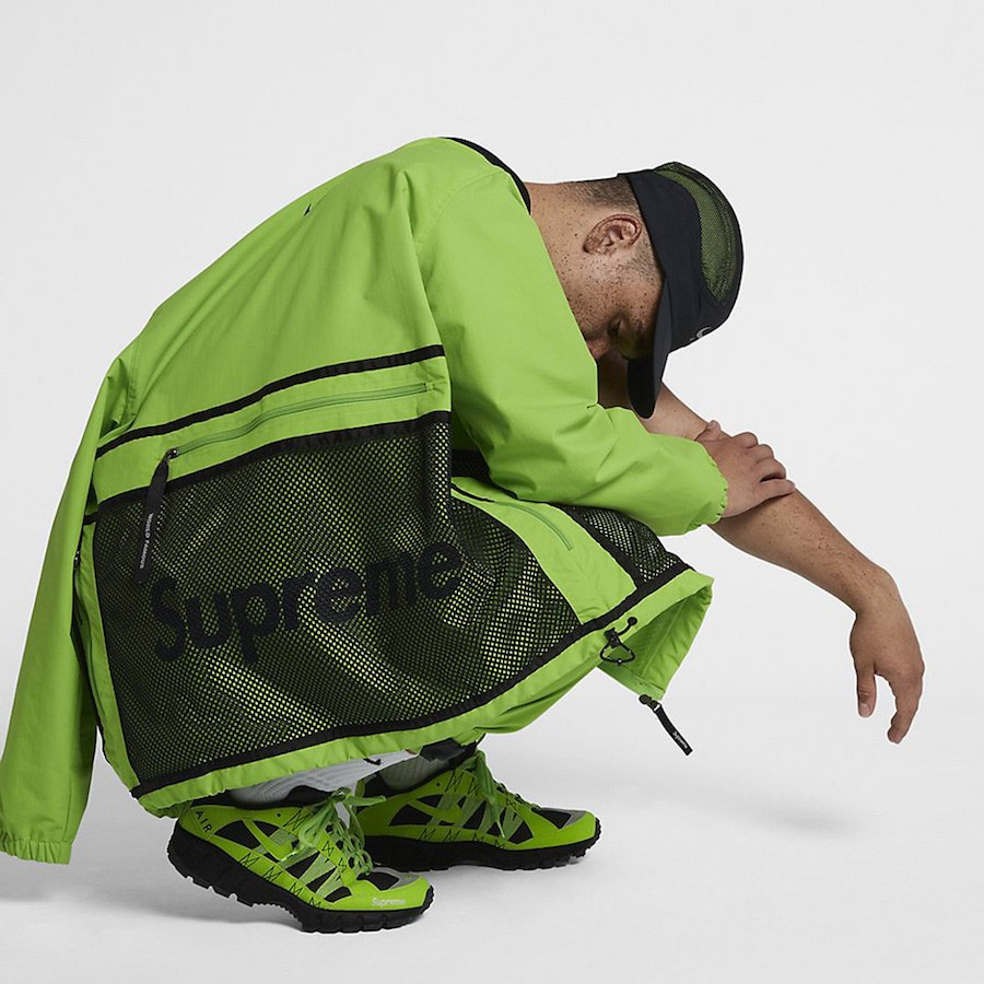 Supreme Nike Track Jacket Green