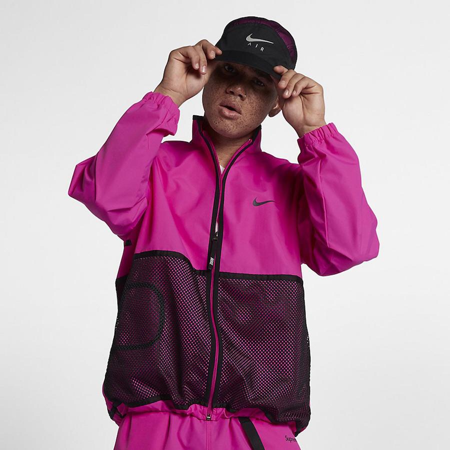 6f57e0477fea1 Supreme Nike Track Jacket Pink ...