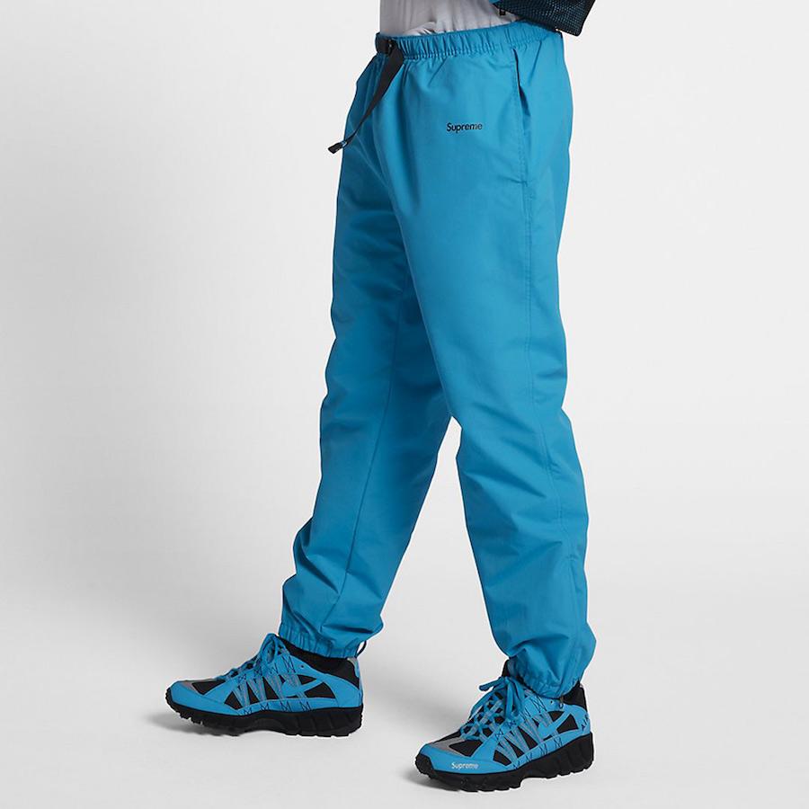 Supreme Nike Track Pants Blue