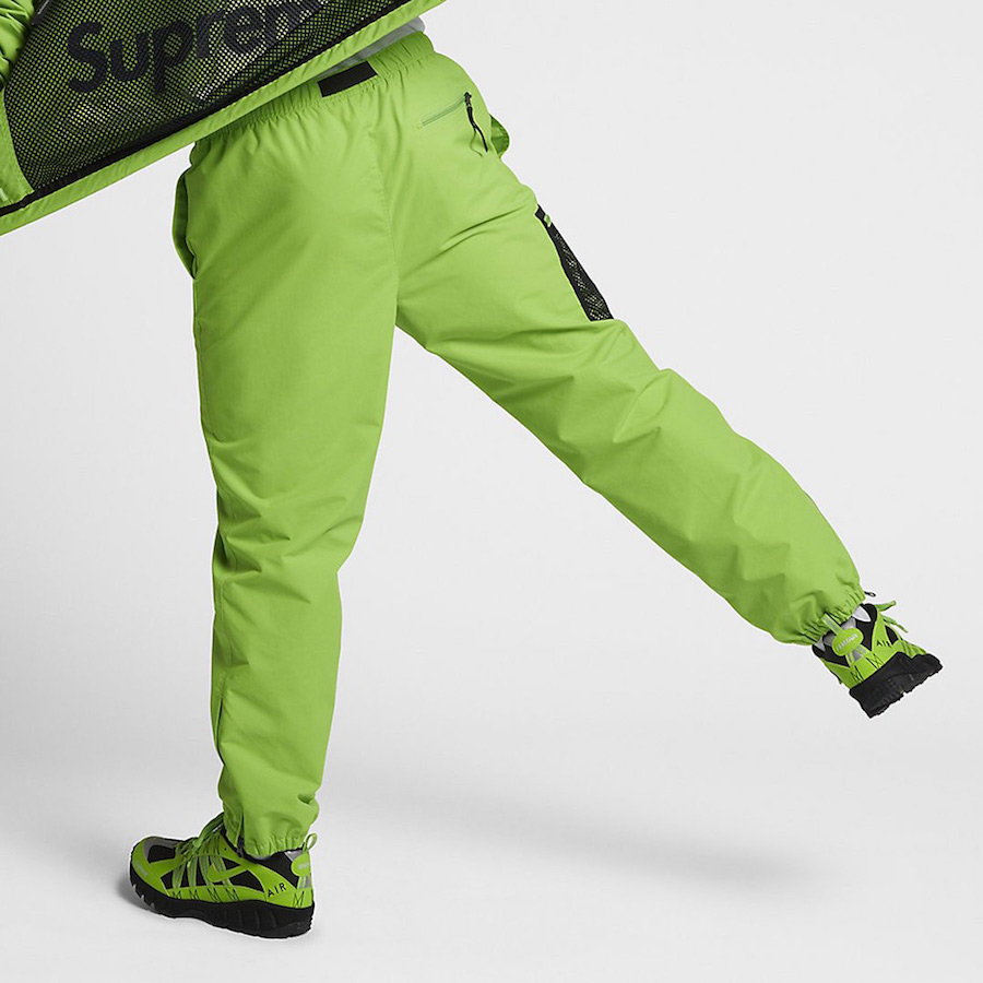 Supreme Nike Track Pants Green
