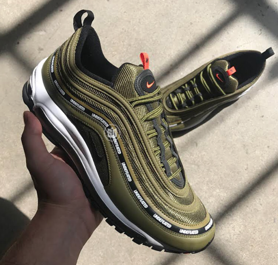 Undefeated Nike Air Max 97 Olive Release Date