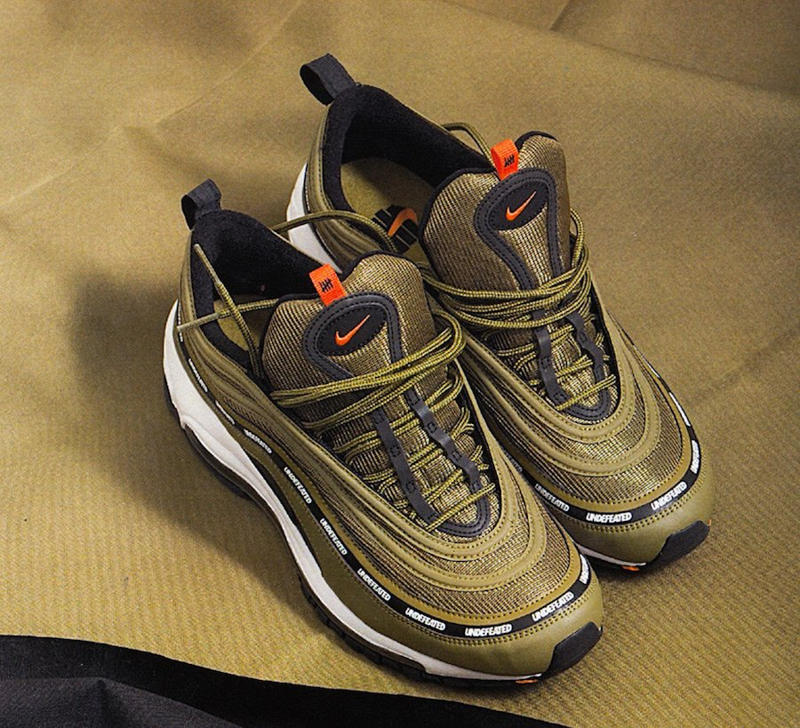 Undefeated Nike Air Max 97 Olive Release Details