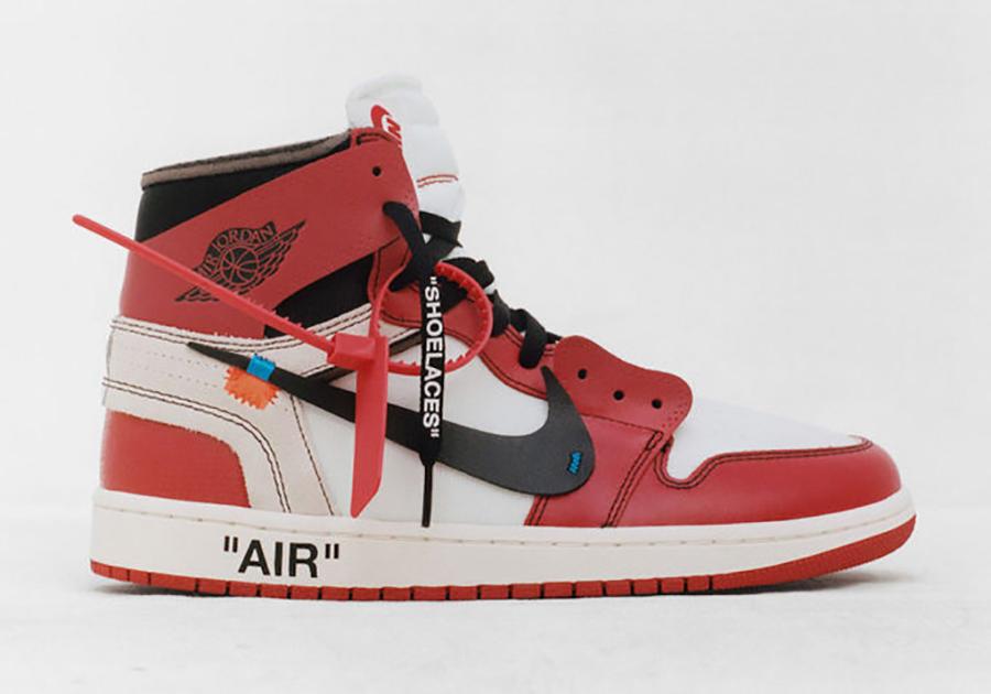 Virgil Abloh Air Jordan 1 Shoe of the Year