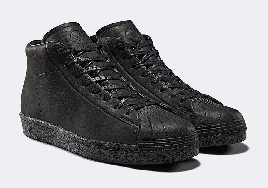 wings+horns adidas Superstar Pro Model Black CG3750