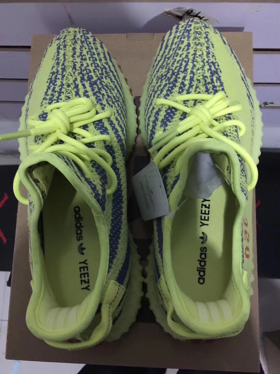 1d09eee1d adidas Yeezy Boost 350 V2 Semi Frozen Yellow B37572 Release Date ...