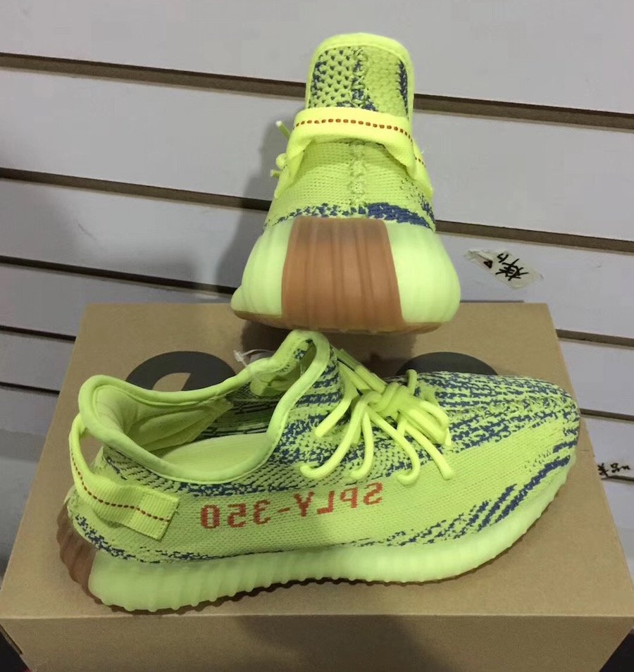 94fa2e196f68 adidas Yeezy Boost 350 V2 Semi Frozen Yellow B37572 Release Date ...