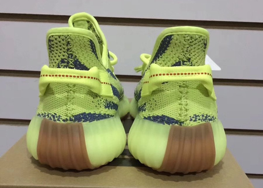 5c7b8cc77 adidas Yeezy Boost 350 V2 Semi Frozen Yellow B37572 Release Date ...