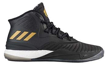 adidas D Rose 8 Black Gold White