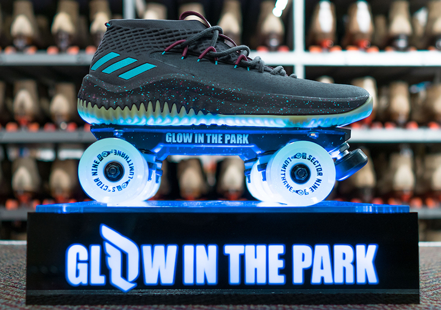 adidas Dame 4 Glow in the Park CQ1254