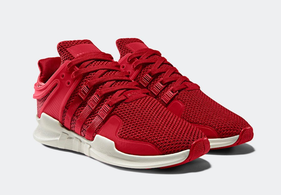 adidas EQT Support ADV Snakeskin Pack Scarlet Red