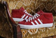 adidas Matchcourt Mid Red Suede CG5670