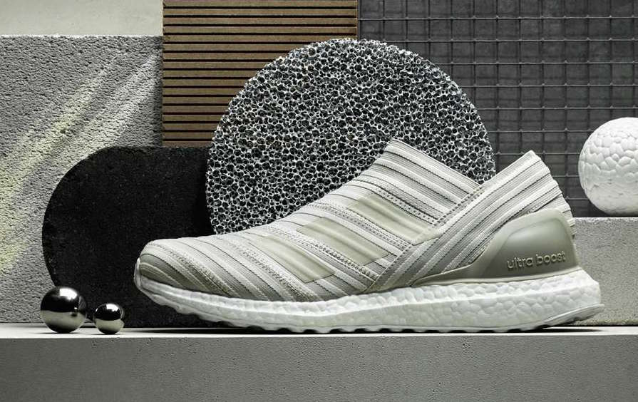 cd481e2900194 ... adidas Nemeziz Tango 17+ 360 Agility Ultra Boost Brown White CG3660 ...