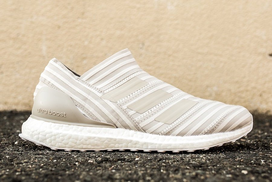 brand new 712ca 2c303 adidas Nemeziz Ultra Boost Clear Brown
