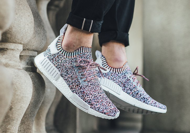 adidas NMD Color Static On Feet