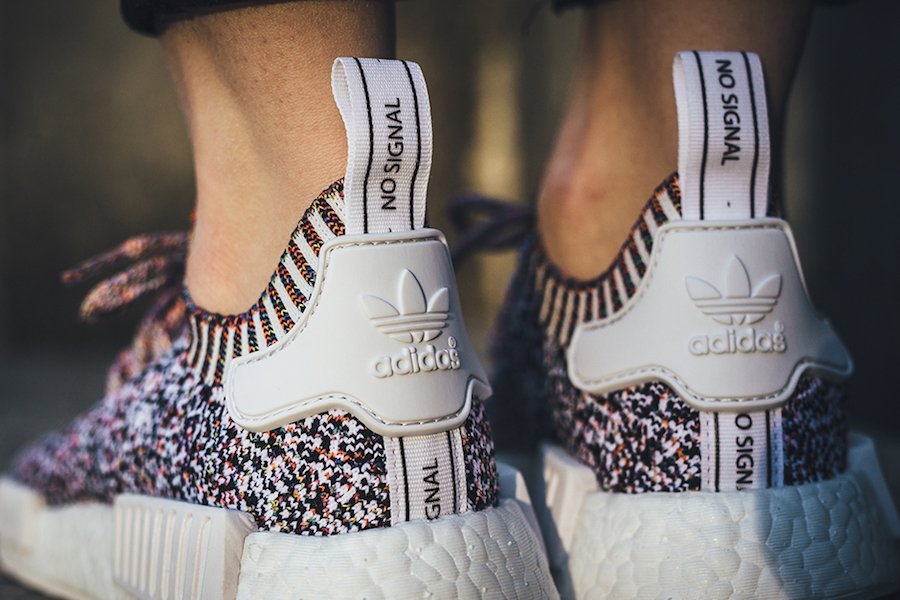 Adidas NMD R1 PK Primeknit 'Color Static No Signal'