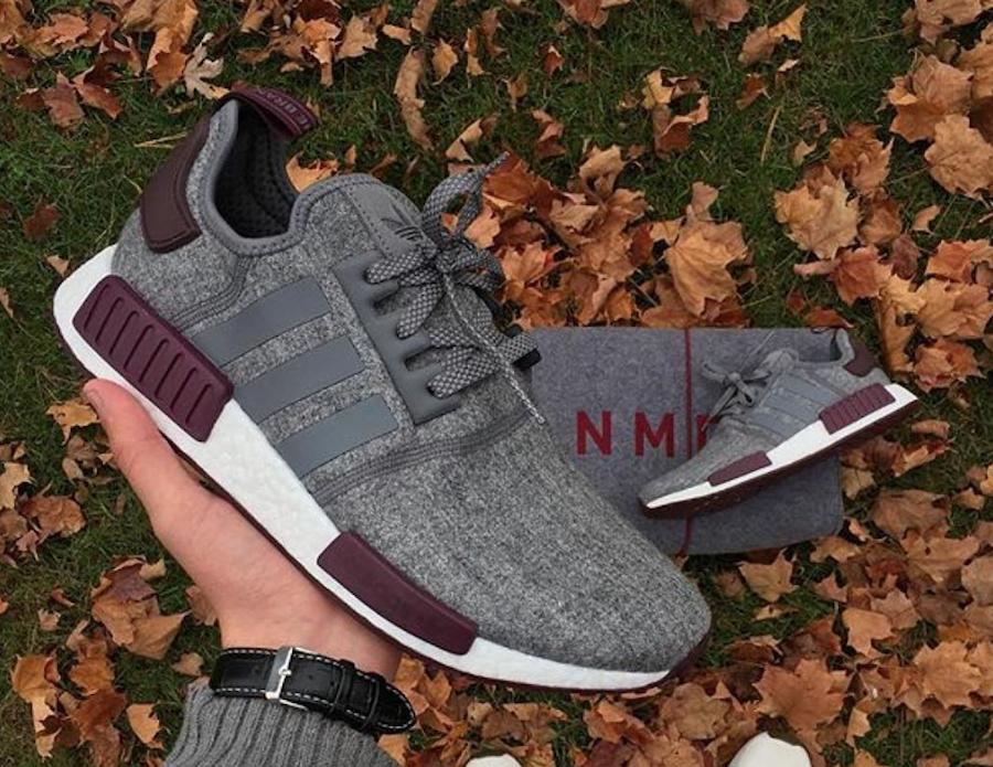 adidas NMD R1 Grey Wool CQ0761 | SneakerFiles