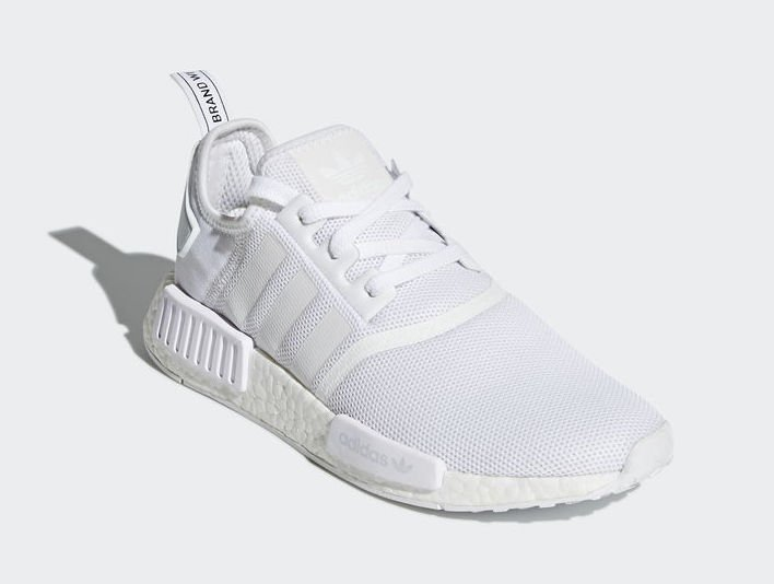 Authentic Adidas NMD R1 Louis Vuitton White Red Boost Cheap