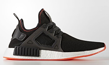 adidas NMD XR1 Black Red Stitch