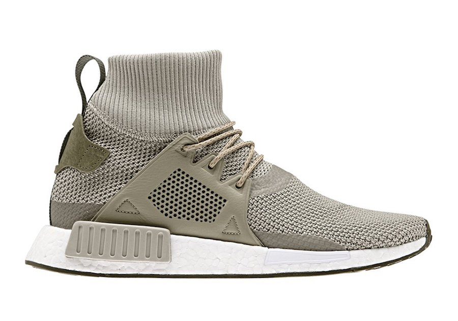 adidas NMD XR1 Boost Winter Raw Gold Sesame FTWR White CQ3073