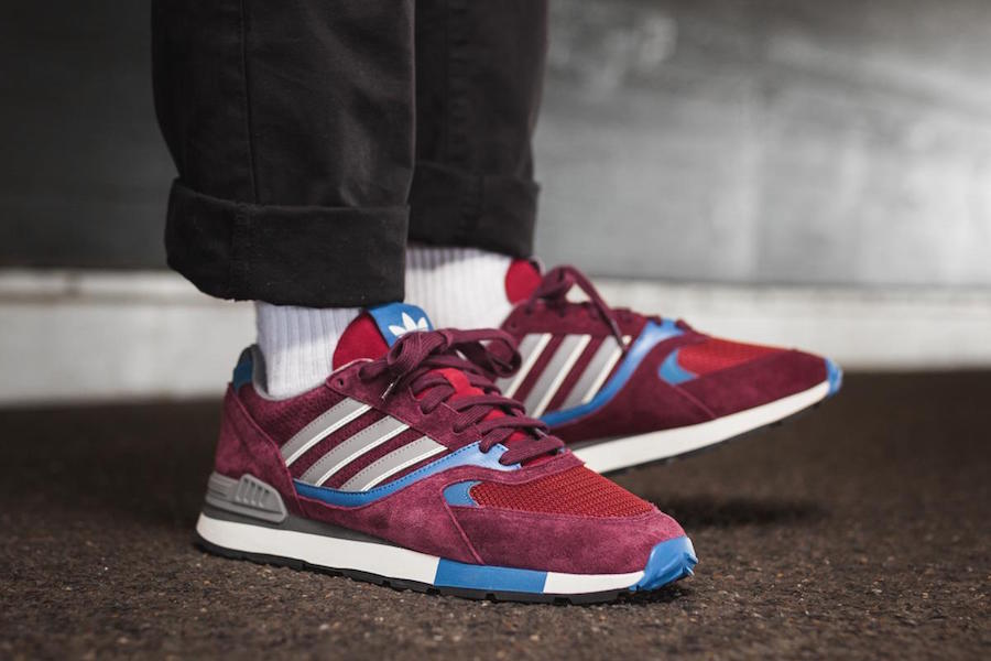 adidas Quesence Maroon Trace Blue CQ2132