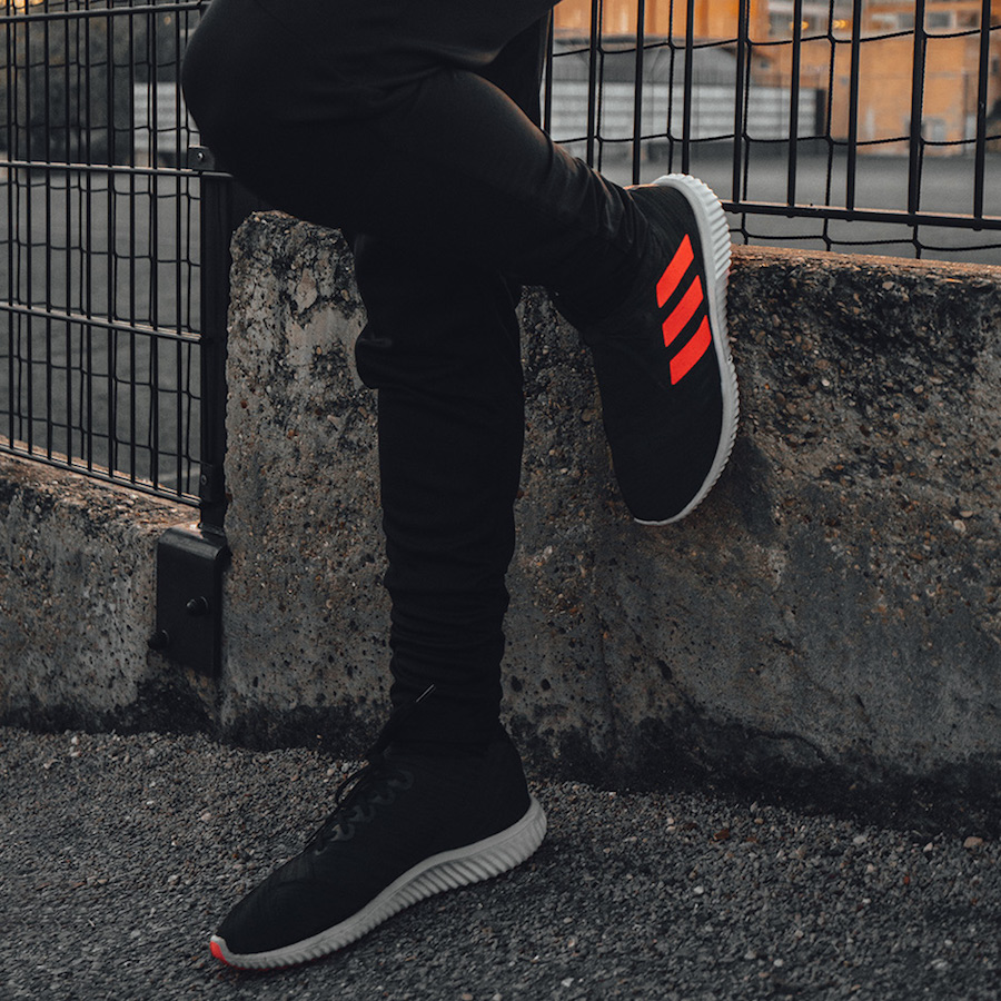 adidas Soccer Skystalker Collection Black Red Gold