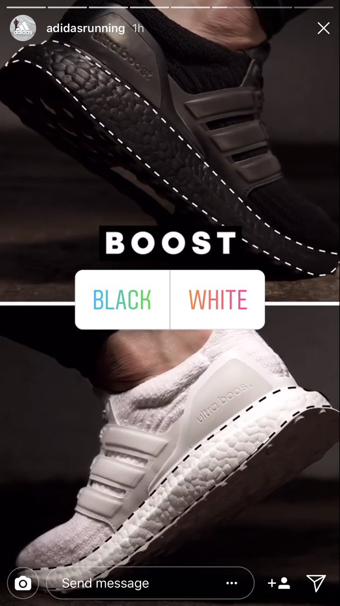 adidas Ultra Boost Instagram Poll Vote Giveaway