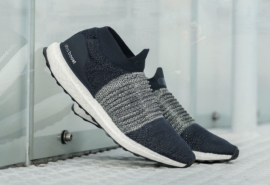 adidas Ultra Boost Laceless Legend Ink Nude