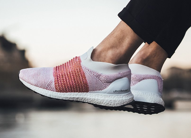 adidas Ultra Boost Laceless Trace Scarlet BB6136