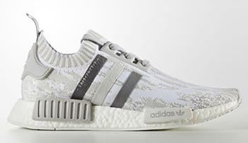 adidas Womens NMD Primeknit Triple Grey