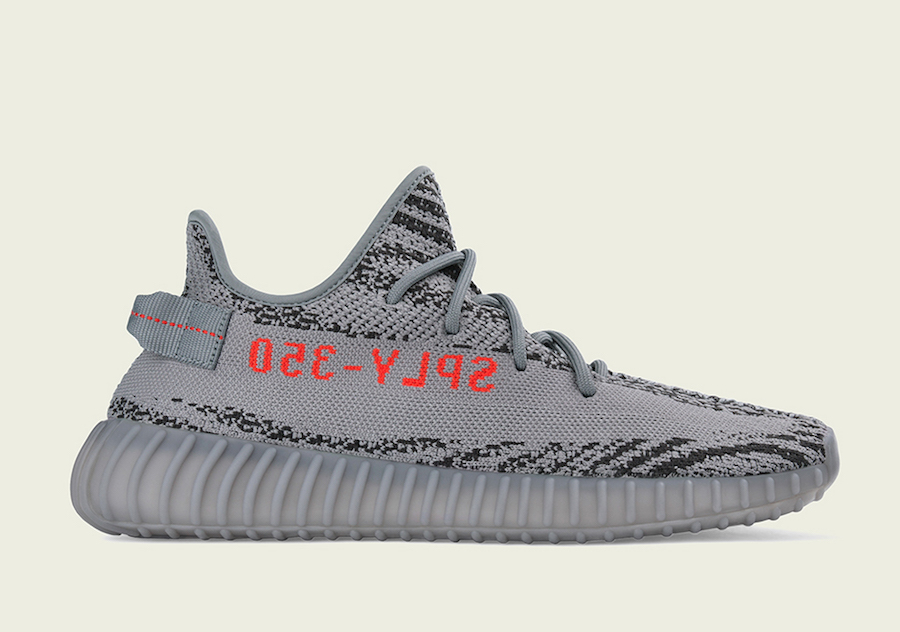 adidas Yeezy Boost 350 V2 Grey Orange Beluga 2 Official Release Date