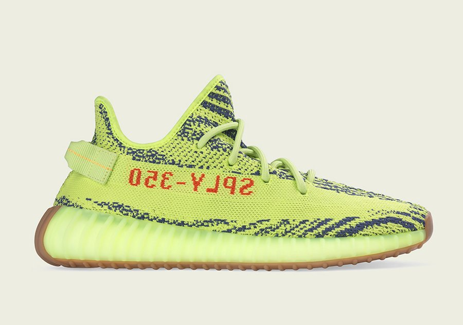 adidas Yeezy Boost 350 V2 Semi Frozen Yellow Official Release Date