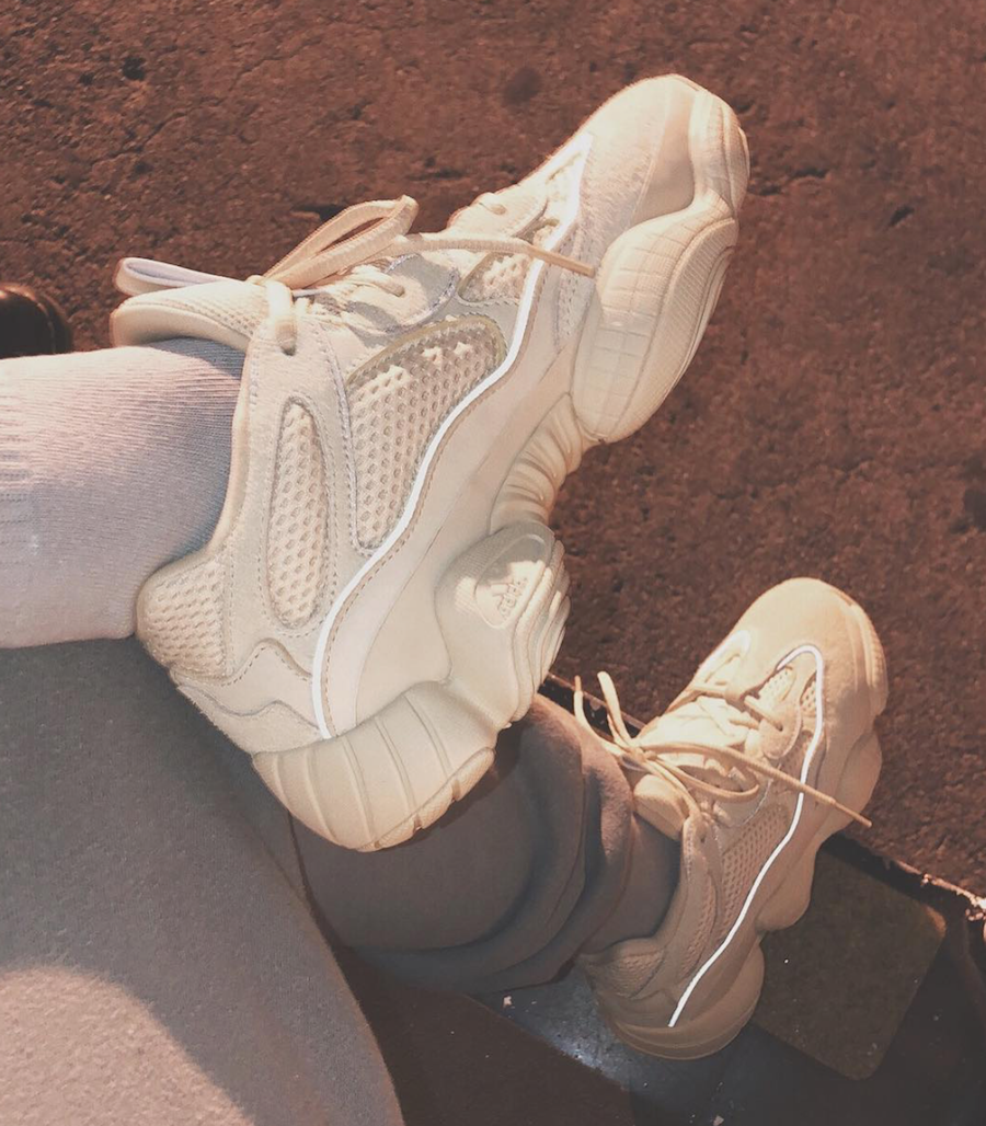 adidas Yeezy Mud Rat 500 White Reflective