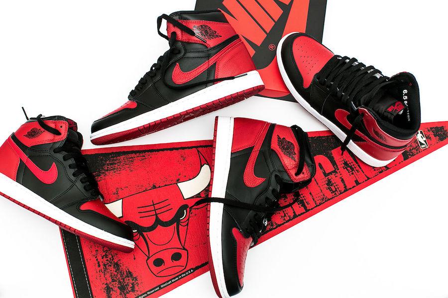 Air Jordan 1 Banned Restock 2017