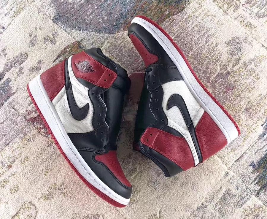 Air Jordan 1 Bred Toe 555088-610 Release Date