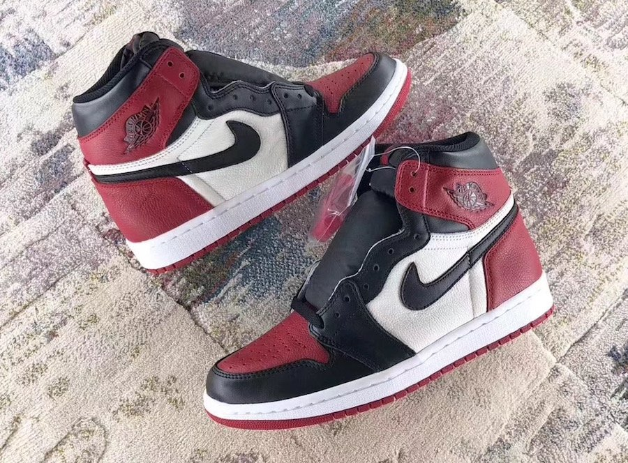 68672cf9add Air Jordan 1 Bred Toe 555088-610 Release Date | SneakerFiles